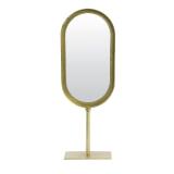 Light & Living Ovale Spiegel 'Lure' kleur Oud Brons