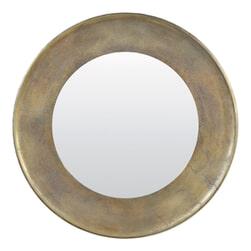Light & Living Spiegel 'Sana' Ø88cm, antiek brons
