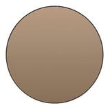 Light & Living Ronde Spiegel 'Espejo' 116cm, kleur Bruin