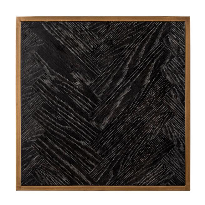 Richmond Bijzettafel 'Blackbone' 50 x 50cm