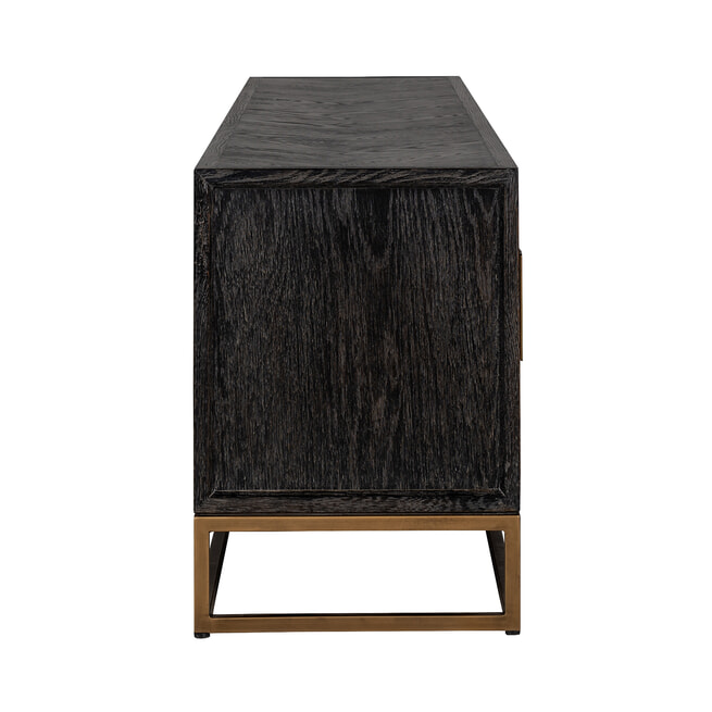 Richmond TV-meubel 'Blackbone' Brass, 200cm