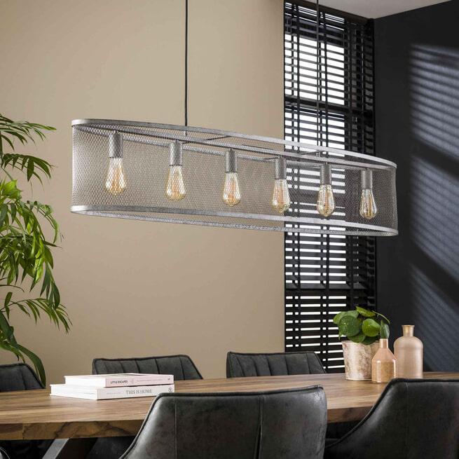 LifestyleFurn Hanglamp 'Miranda' 6-lamps