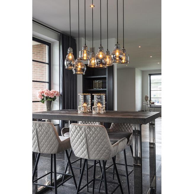 Richmond Hanglamp 'Crosley' 8-lamps