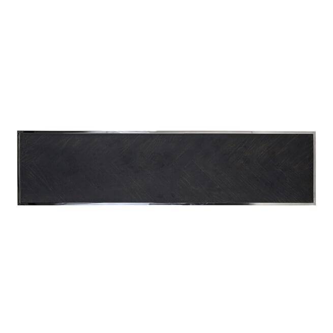 Richmond Salontafel 'Blackbone' Silver, 160 x 40cm