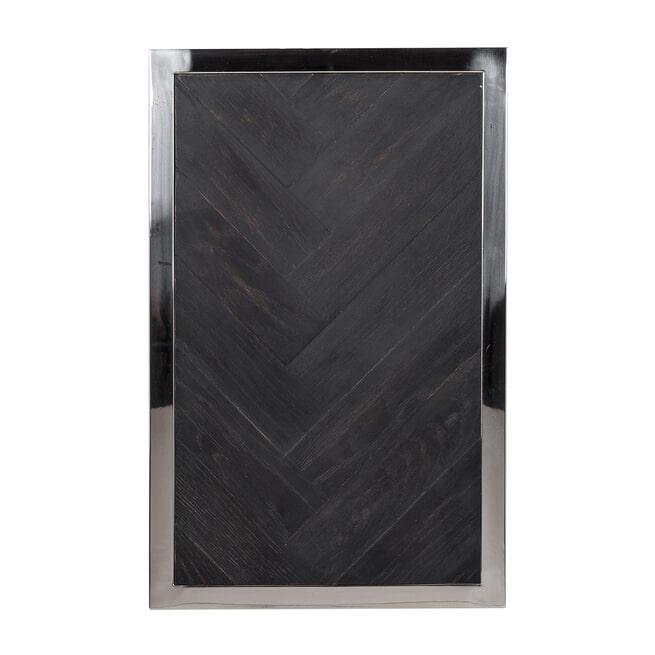 Richmond Bijzettafel 'Blackbone' Kleur Zilver