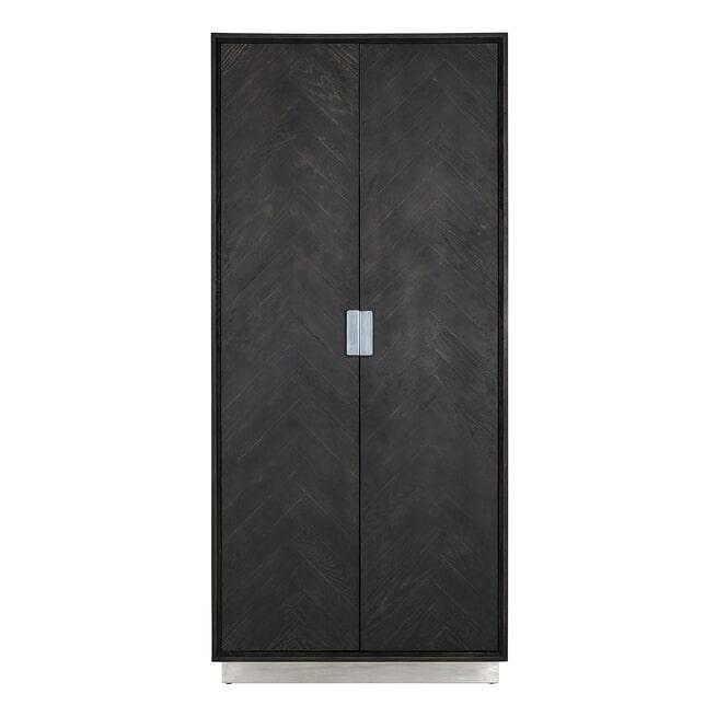 Richmond Opbergkast 'Blackbone' Silver, 220 x 100cm