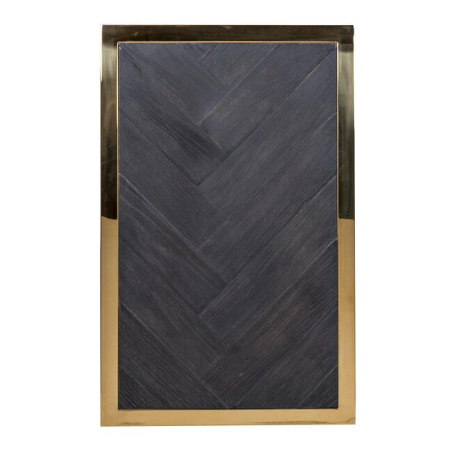 Richmond Bijzettafel 'Blackbone' kleur Goud