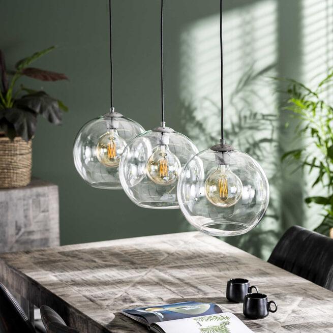 Hanglamp 'Katie' Ø30cm, 3-lamps