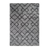 Kayoom Vloerkleed 'Luxury 310' kleur Grijs / Antraciet, 80 x 150cm