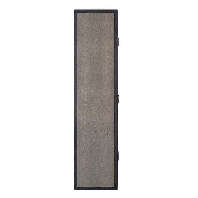 Richmond Sidetable 'Bloomingville' Shagreen look, 165cm