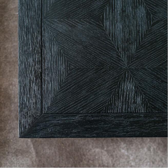 Richmond Salontafel 'Blax' 130 x 80cm, Eikenhout en staal