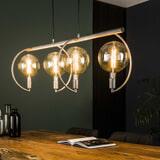 Hanglamp 'Cynthia' 4-lamps, Ø200mm, kleur Oud Zilver