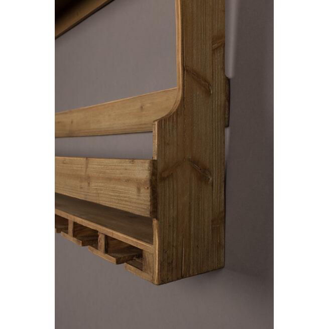 Dutchbone Wandplank/Wijnrek 'Tres' 48 x 80cm