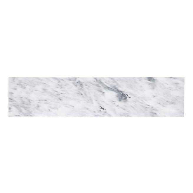 Richmond Sidetable 'Smith' Staal en marmer, 150cm