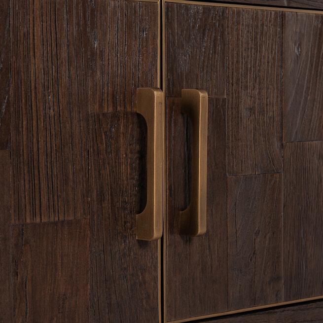 Richmond TV-meubel 'Cromford Mill' 200cm, Brushed Gold