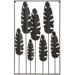 J-Line Wandpaneel 'Renildis' 135 x 84.5cm, kleur Zwart