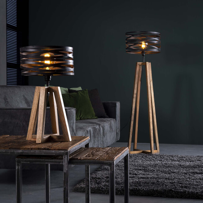 Tafellamp 'Manuel' 1-lamps, Ø29cm