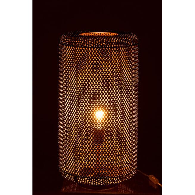 J-Line Tafellamp 'Gui' Ø32cm, kleur Goud