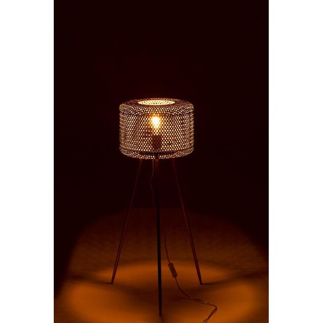 J-Line Vloerlamp 'Gui' kleur Goud