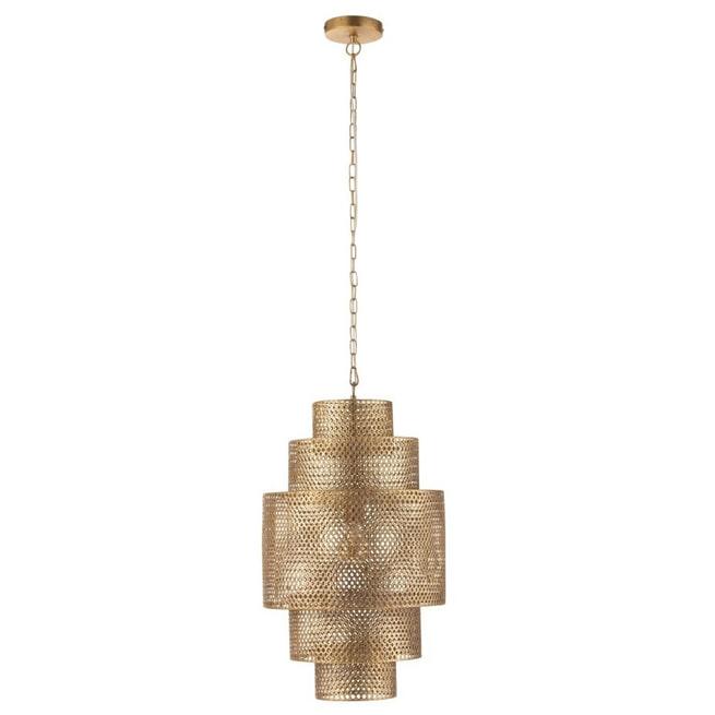 J-Line Hanglamp 'Gui' kleur Goud