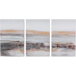 J-Line Schilderij 'Ivonna' Set van 3 stuks