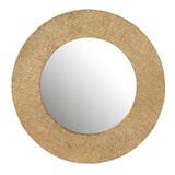 J-Line Ronde Spiegel 'Janina' 70cm, kleur Goud