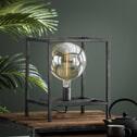 Tafellamp 'Lora' Oud zilver