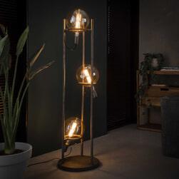 Vloerlamp 'Saturn' 3-lamps (excl. lichtbronnen)
