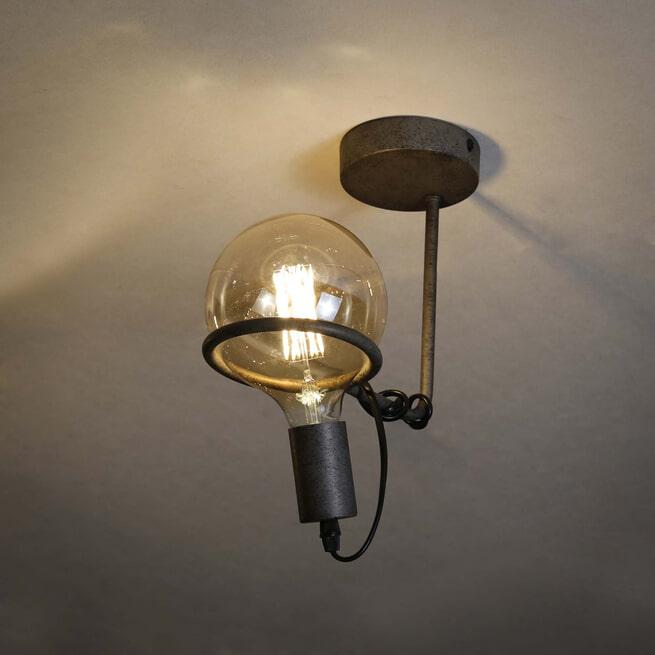Plafondlamp 'Saturn' Oud zilver (excl. lichtbron)