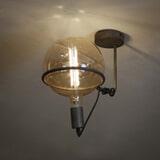 Plafondlamp 'Saturn' Oud zilver (excl. lichtbronnen)