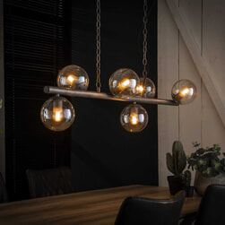 Hanglamp 'Jinte' 6-lamps, Ø15cm