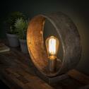 Tafellamp 'Archie' met jute kabel