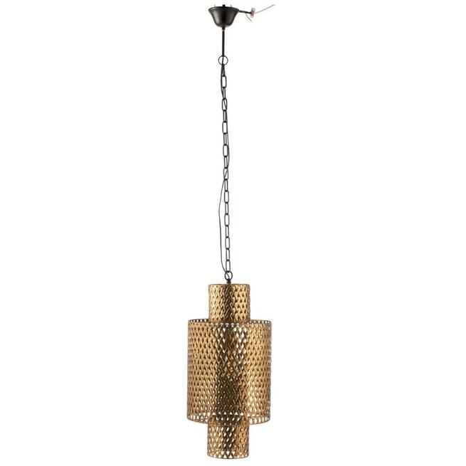 J-Line Hanglamp 'Dorothea' kleur Goud