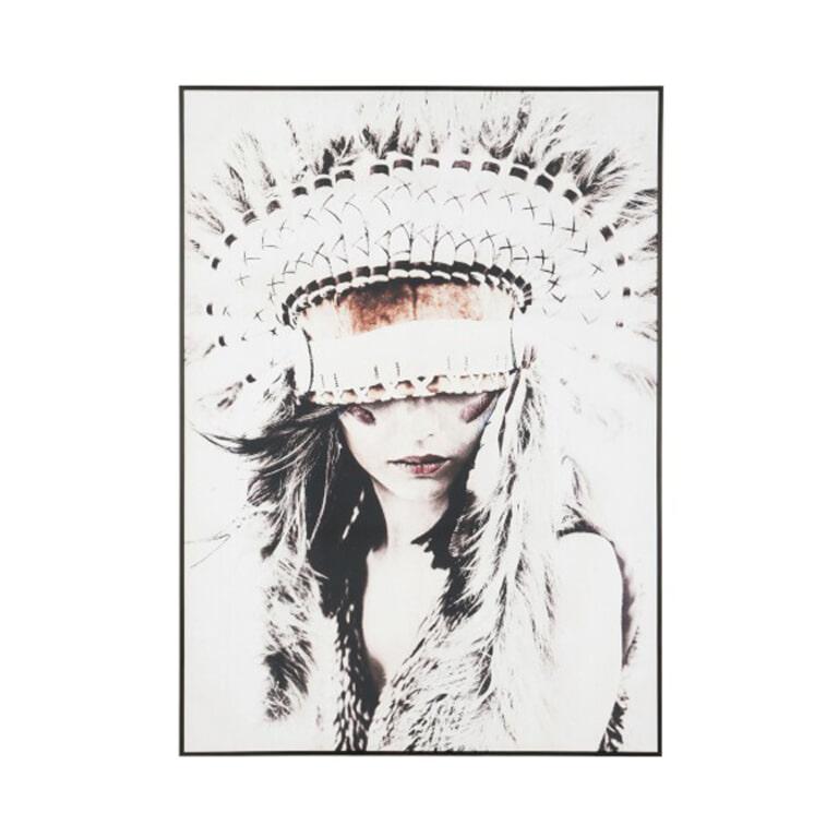 J-Line Schilderij 'Native Woman' 142 x 102cm