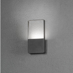Buitenlamp 'Matera' Wandlamp, PowerLED 6W / 230V, kleur antraciet