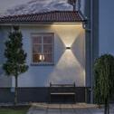 Buitenlamp 'Chieri' Wandlamp, PowerLED 6 x 1,3W / 230V, kleur antraciet