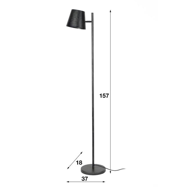 Vloerlamp 'Telly' 157cm