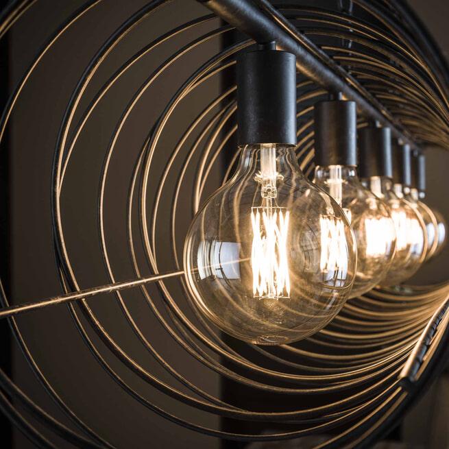Hanglamp 'Joanne' 5-lamps