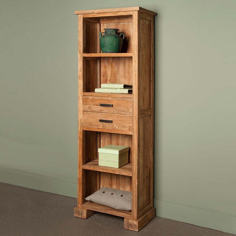 Tower Living Boekenkast 'Lorenzo' met 2 laden