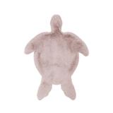 Kayoom Vloerkleed 'Schildpad' kleur Roze, 68 x 90cm
