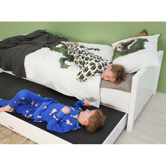 Bopita Bed met laag hoofdeinde 'Bobby' 90 x 200cm, kleur wit