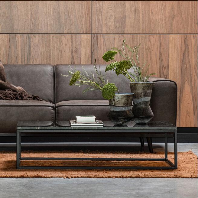 BePureHome Bijzettafel 'Mellow' 120 x 60cm, kleur Zwart