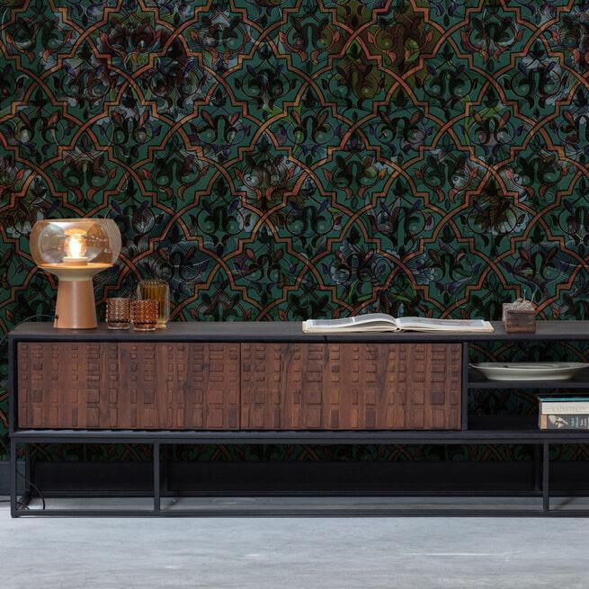 BePureHome TV-meubel 'Nuts' Sheesham hout, 175cm