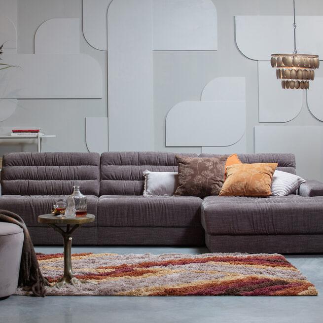 BePureHome Vloerkleed 'Upbeat' 170 x 240cm