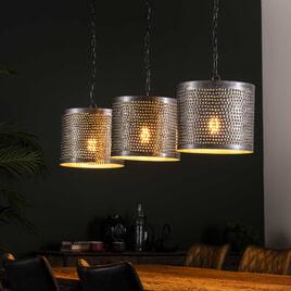 Hanglamp 'Erin' Ø30cm, 3-lamps