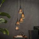 Hanglamp 'Daniel' 5-lamps, Ø15cm
