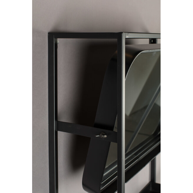 Dutchbone Kapstok 'Langres' met spiegel, 165 x 53cm