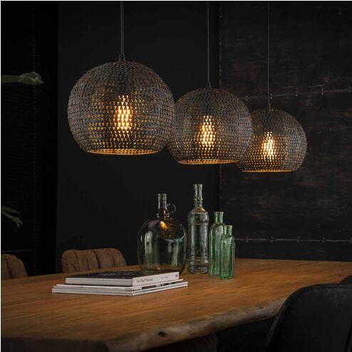 Hanglamp 'Goran' 3-lamps