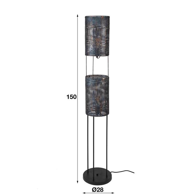 Vloerlamp 'Armor' 2-lamps
