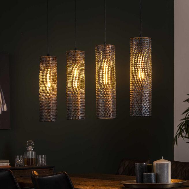 Hanglamp 'Armor' 4-lamps